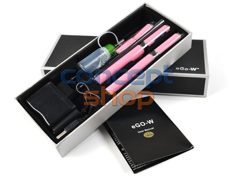 2x ORIGINÁL eGo-W RŮŽOVÁ (LIMITOVANÁ EDICE) Elektronická cigareta 1100 mAh - SKLADEM - MOŽNOST DOPRAVY ZDARMA