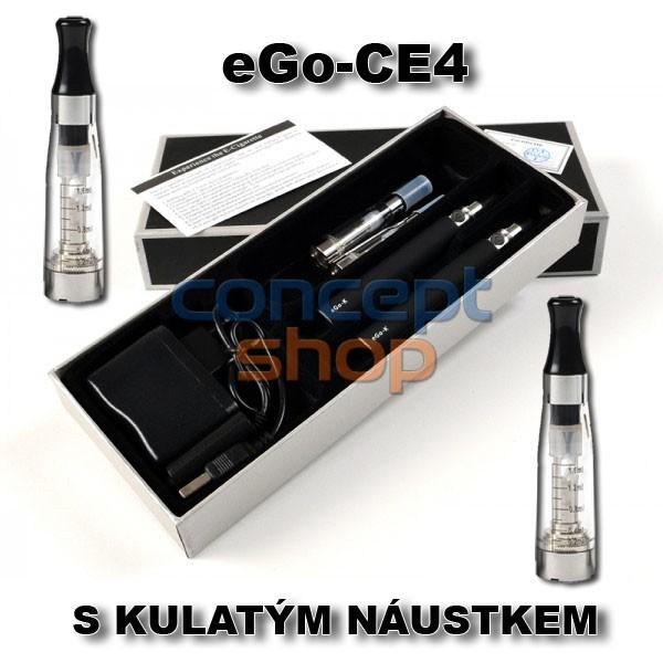 2X ORIGINÁL EGO-CE4 S KULATÝM NÁUSTKEM ELEKTRONICKÁ CIGARETA 1100 MAH - SKLADEM - MOŽNOST DOPRAVY ZDARMA