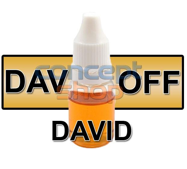 DAVID - liquid pg, 50ml, 16/18mg NIKOTINU, e-liquid Dekang vysoké kvality - SKLADEM