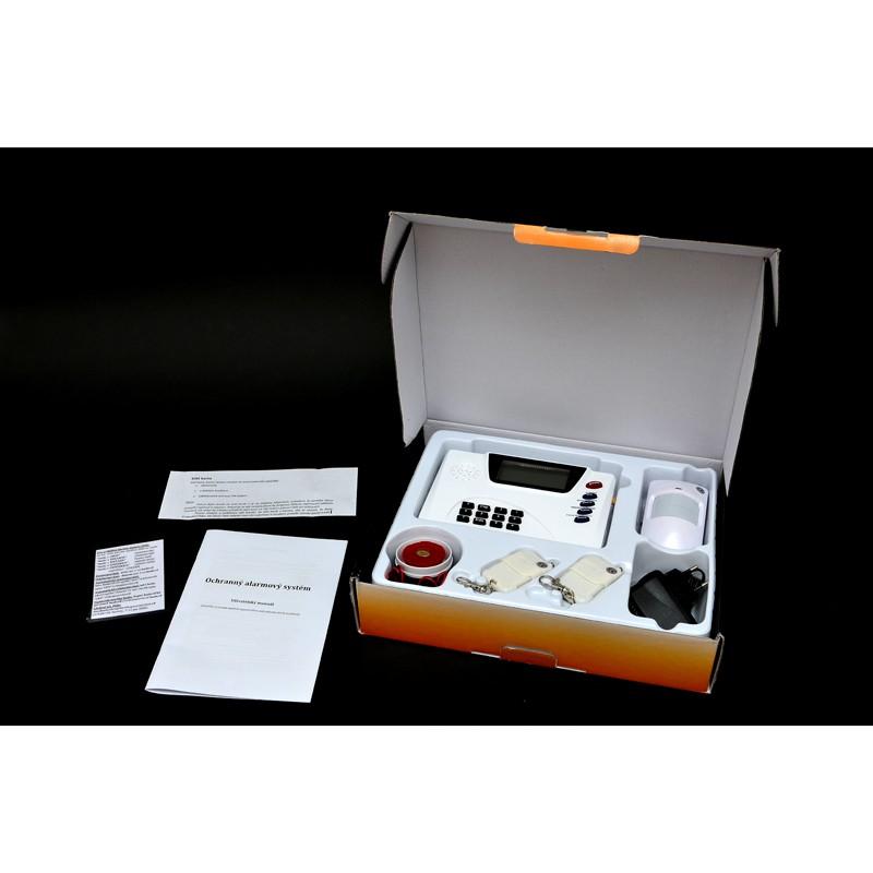 GSM ALARM - ALARM GSM ET970+ S LCD A KLÁVESNICÍ - KOMPLETNÍ BEZDRÁTOVÝ BEZPEČNOSTNÍ SYSTÉM + AKCE DOPRAVA ZDARMA - SKLADEM