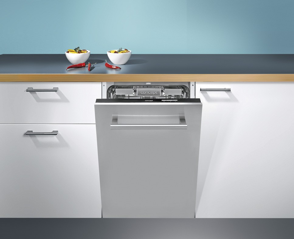 CONCEPT MNV-4545 Myčka nádobí vestavná plně integrovaná 45 cm + MOŽNOST DOPRAVY ZDARMA
