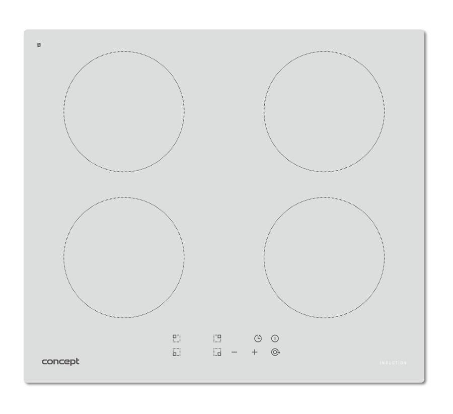 CONCEPT IDV-2660wh Indukční varná deska vestavná 60 cm + DOPRAVA ZDARMA