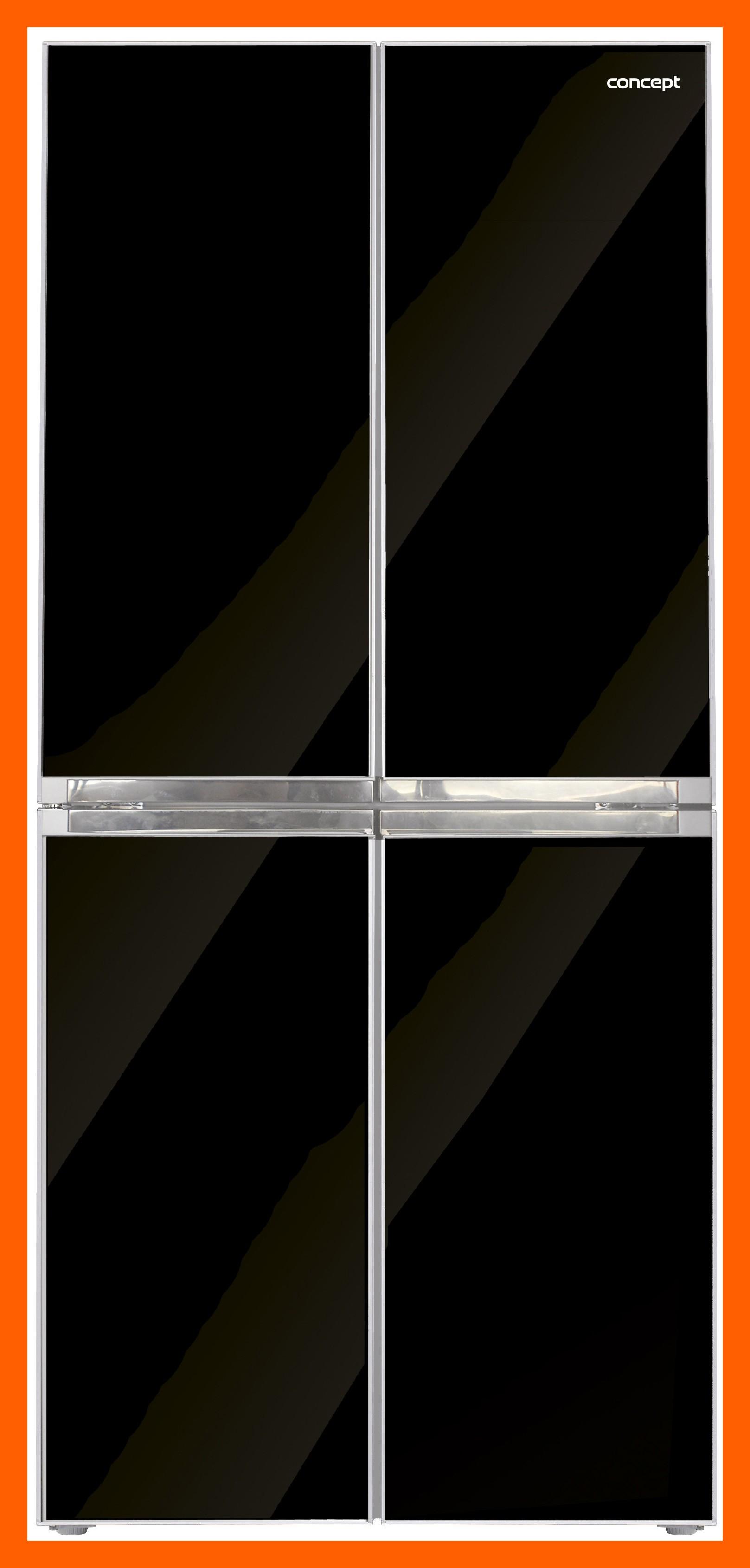 CONCEPT LA8080 - Česká Amerika, Volně stojící kombinovaná chladnička s mrazničkou + MOŽNOST DOPRAVY ZDARMA