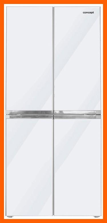 CONCEPT LA8080WH - Česká Amerika, Volně stojící kombinovaná chladnička s mrazničkou + MOŽNOST DOPRAVY ZDARMA